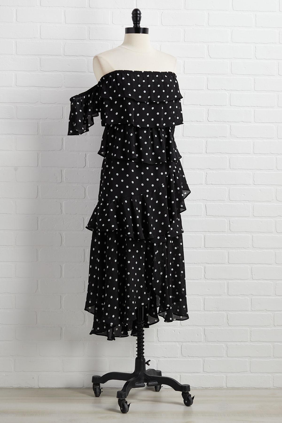 Dot It That Way Dress