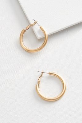 basic hoop earrings