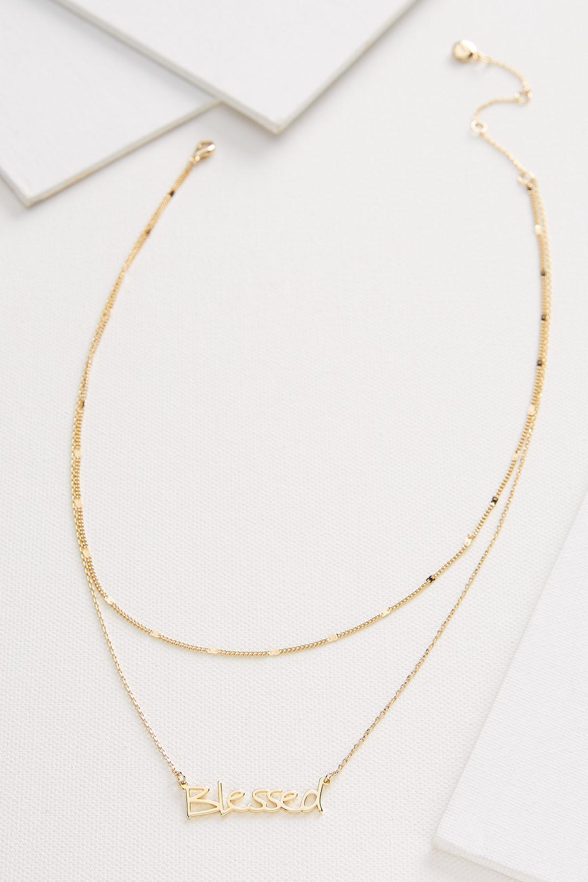 Blessed Layered Necklace