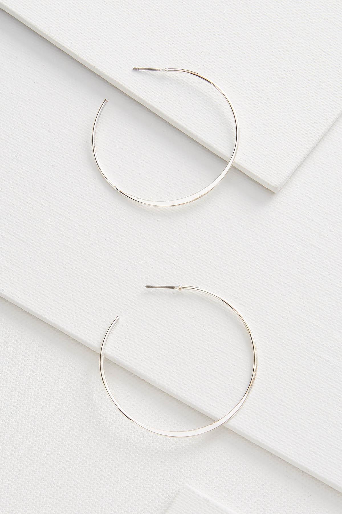 Thin Metal Earrings