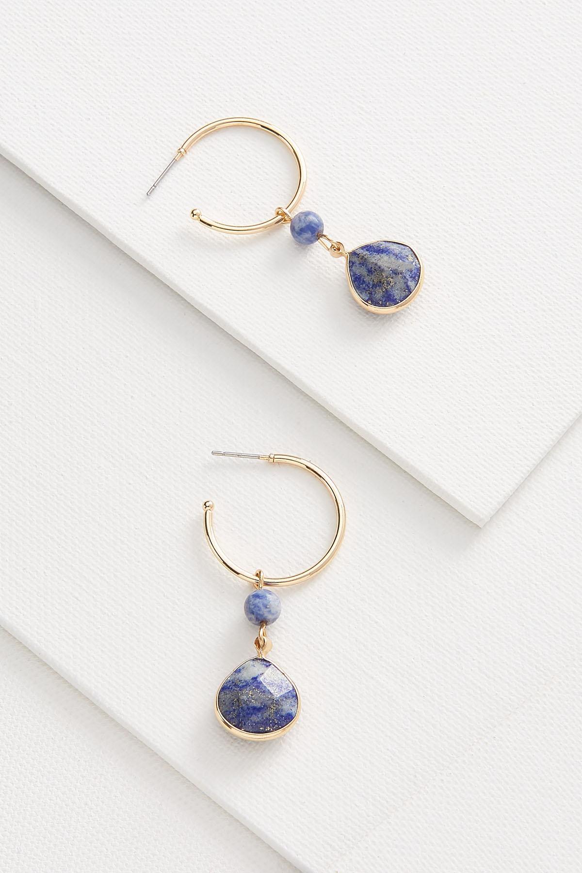 Watercolor Charm Earrings