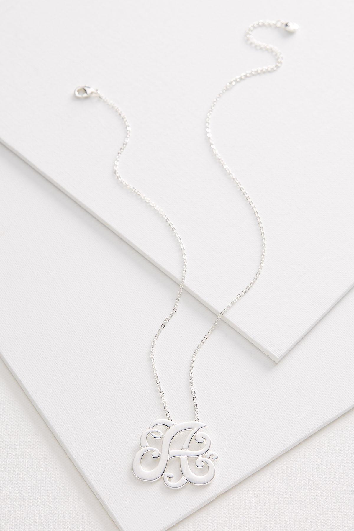 A Scroll Necklace