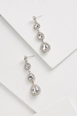 dramatic tier earrings