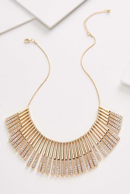 glam bib necklace