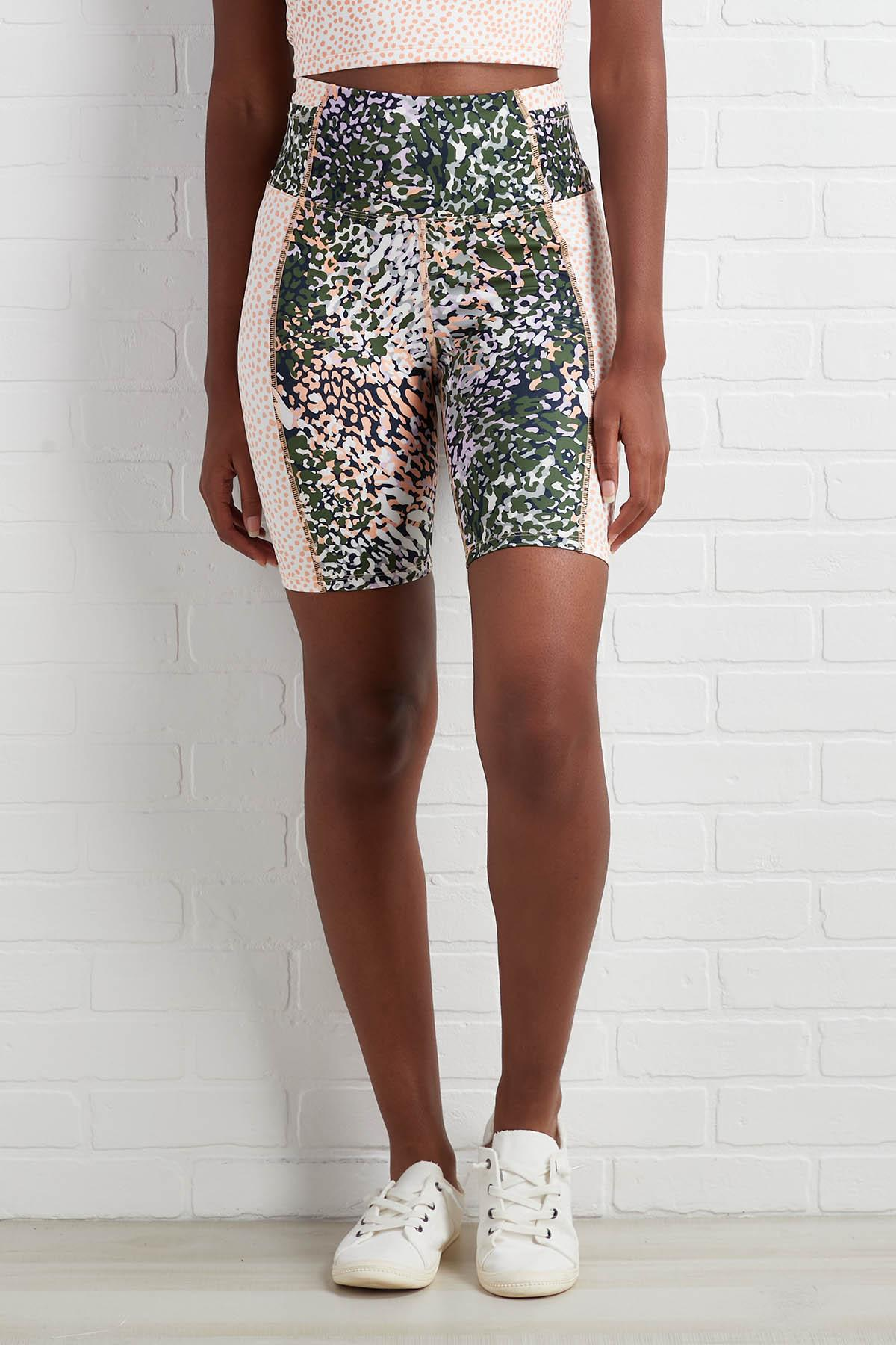 Abstract Idea Biker Shorts