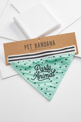 party animal pet bandana
