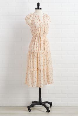 blossomed romance dress