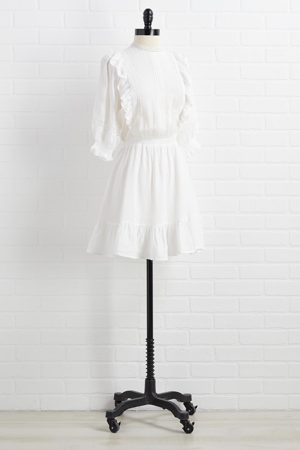 Wrong Or White Dress