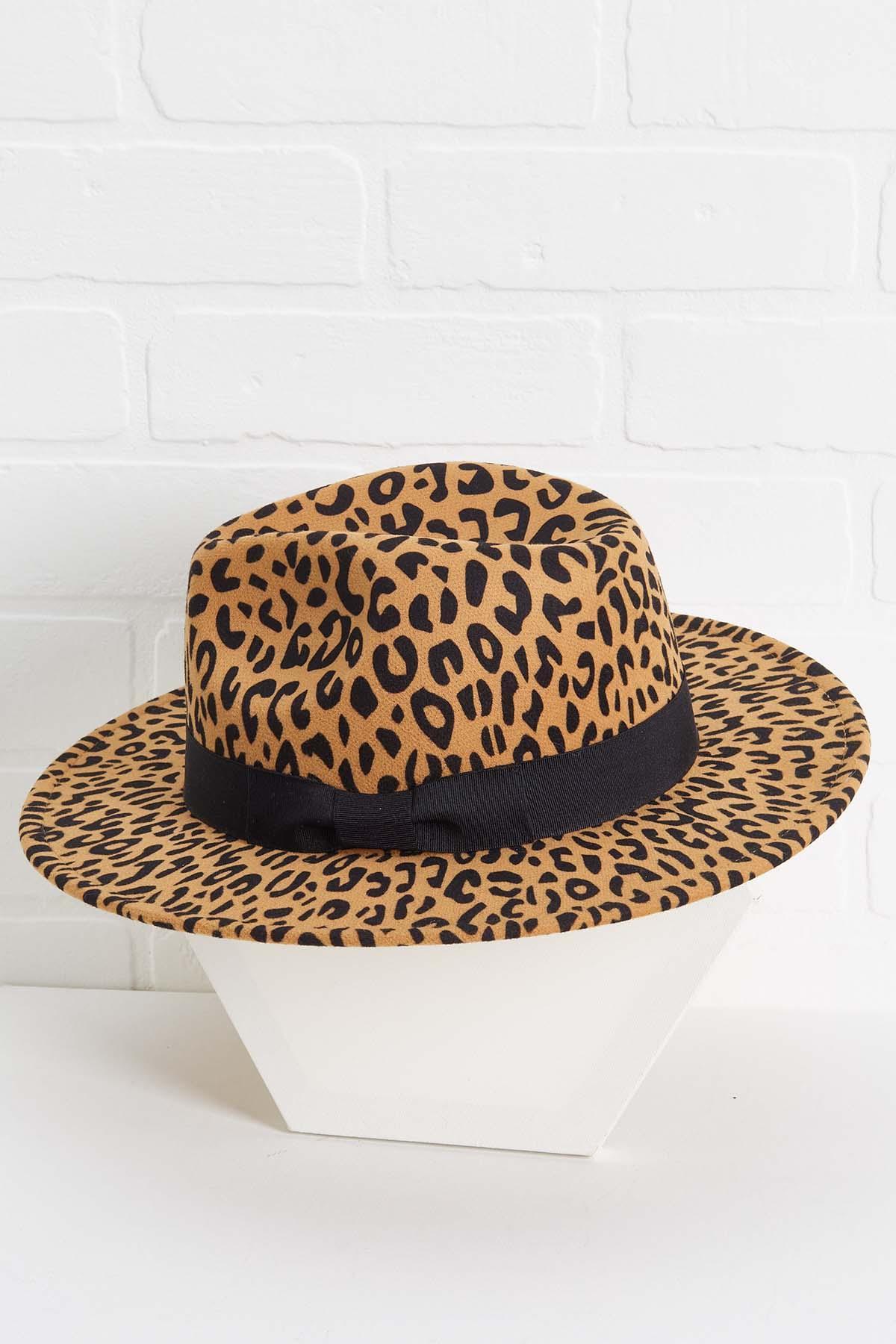 Leopard Love Panama Hat