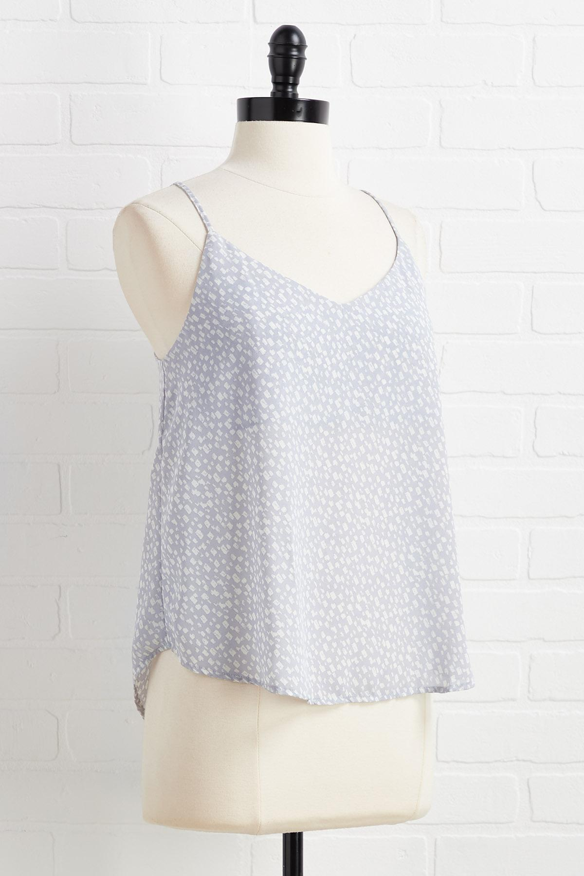 Spotted And Speckled Top
