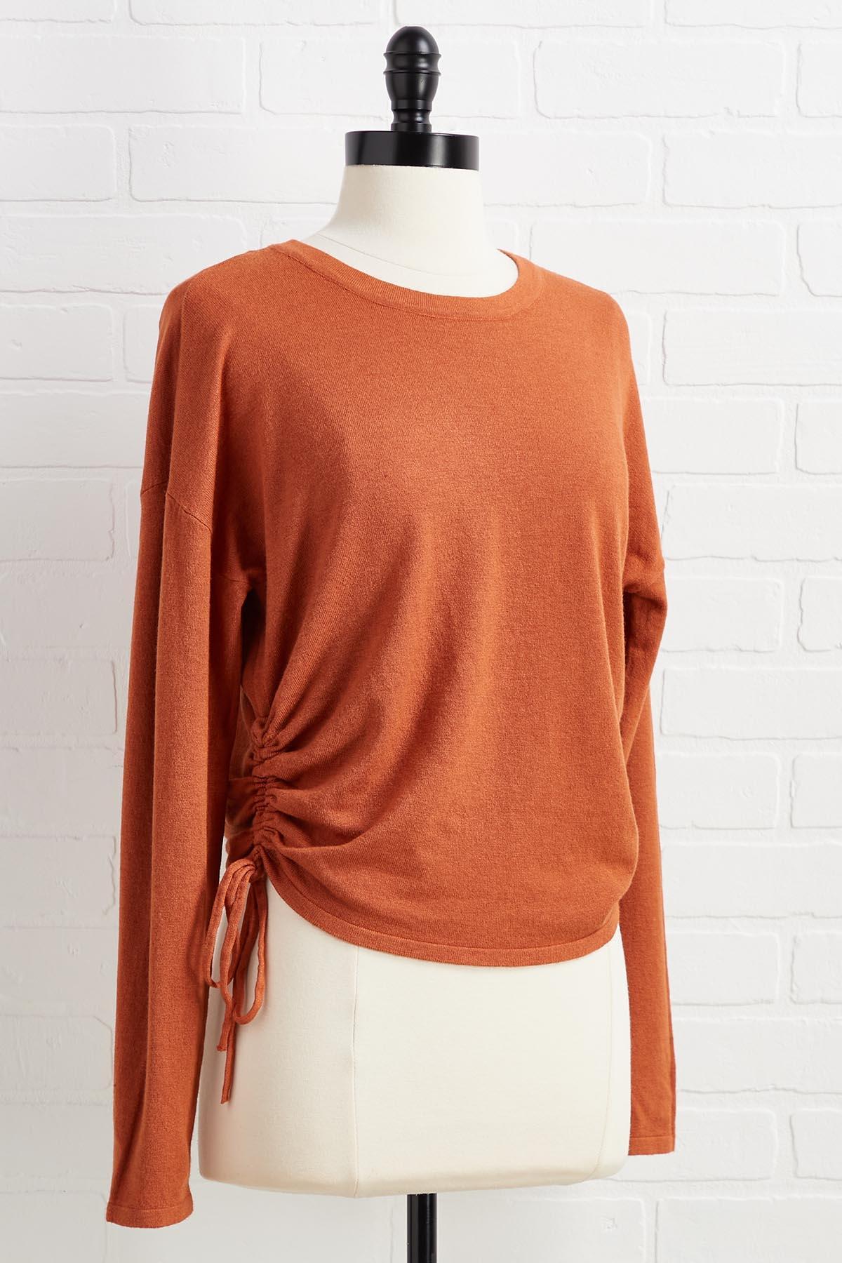 It's Scrunch Time Sweater