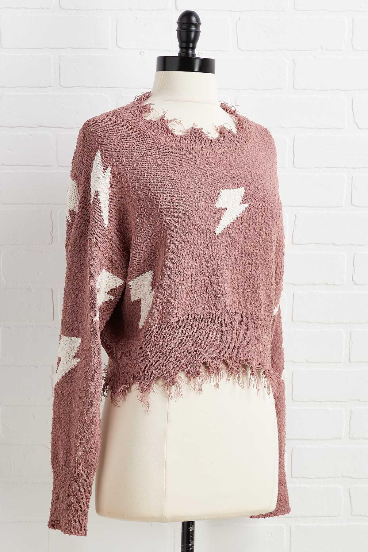 Greased Lightning Sweater