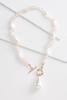 Pink And Pearl Necklace