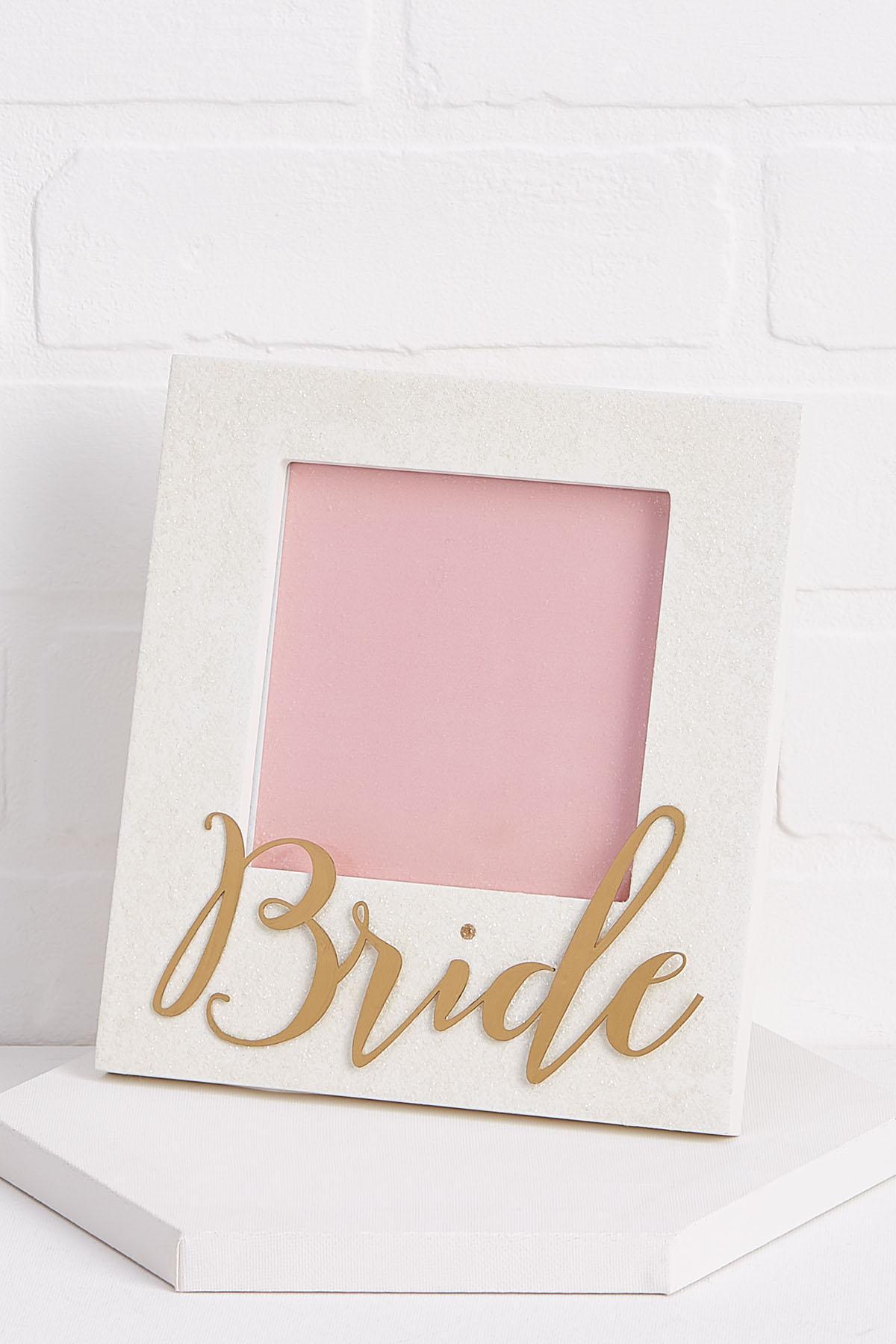 Sparkly Bride Frame