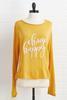 Choose Happy Sweater