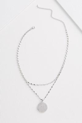 chain charm necklace