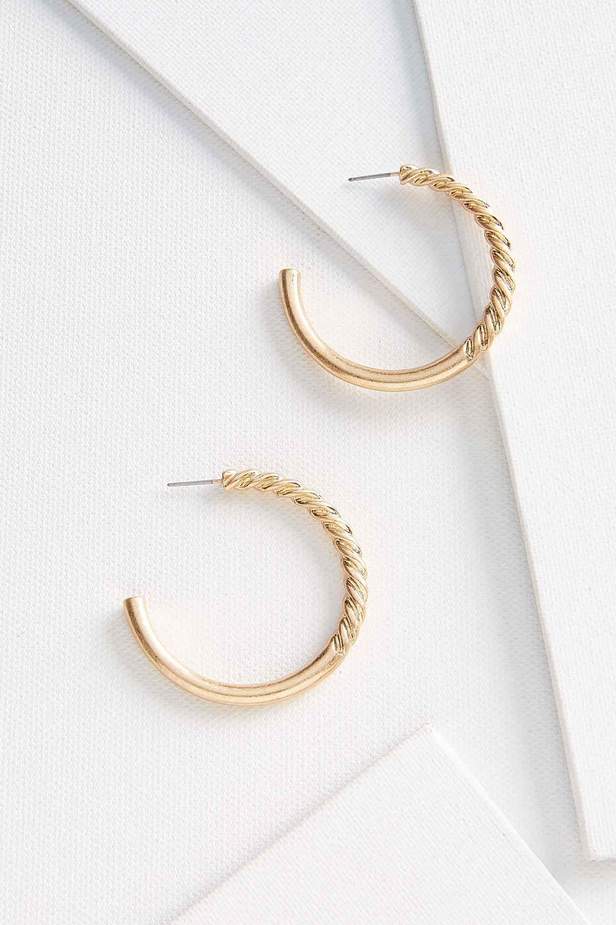 Twisted Texture Earrings