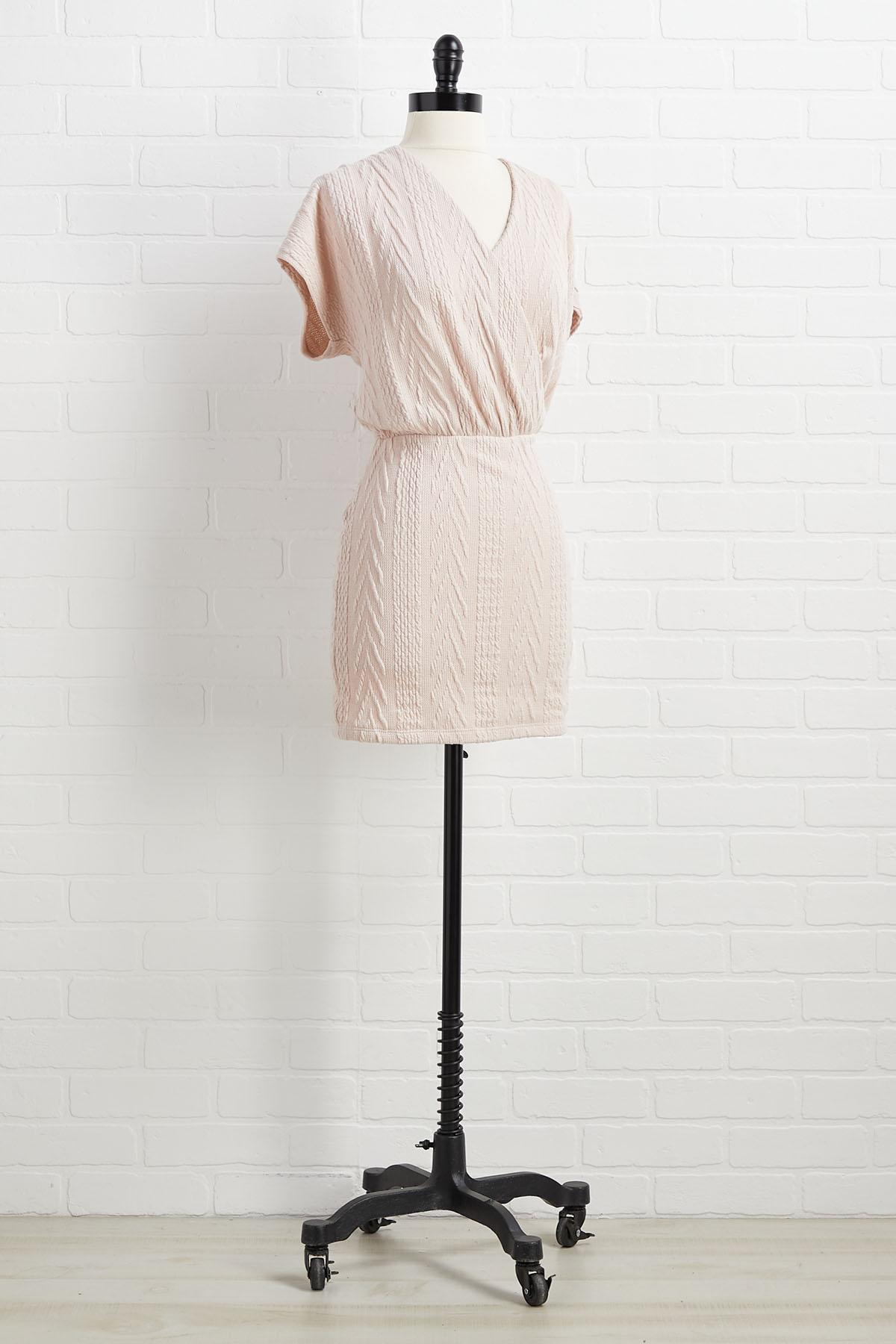 Cue For Cozy Dress
