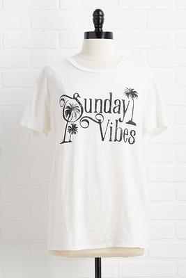 sunday vibes top