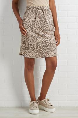 walking wild skirt