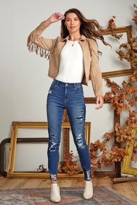 torn apart jeans