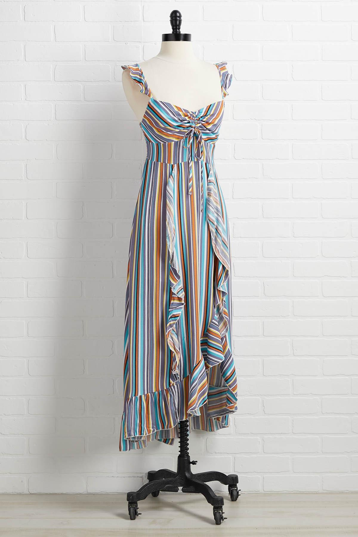 Just My Stripe Dress