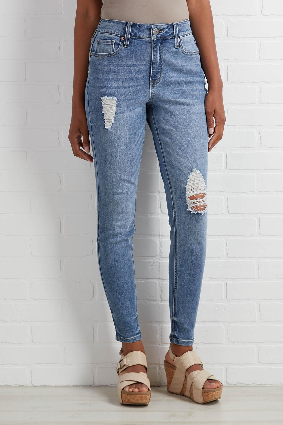 On The Rise Jeans