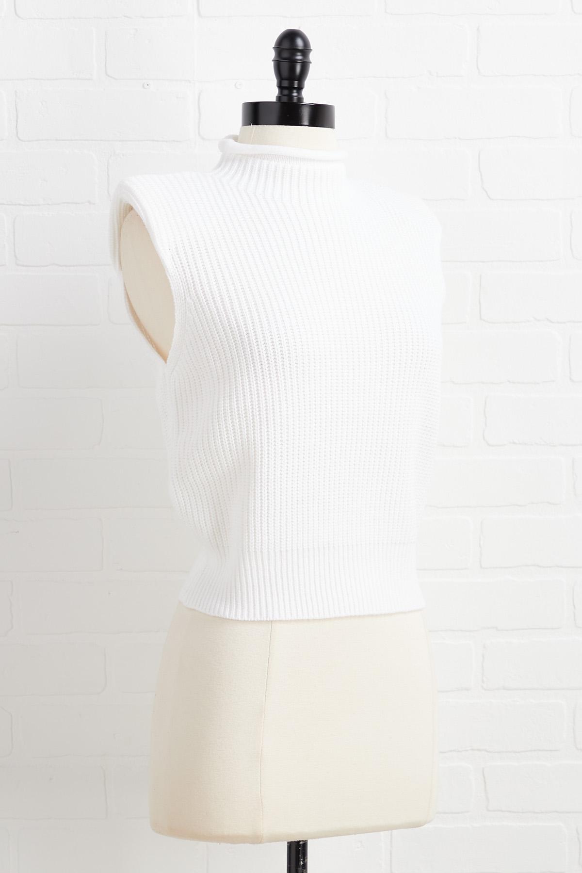 Vest Believe It Sweater