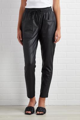 edge of trendy pants