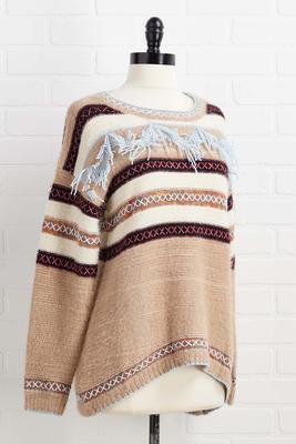 mountain getaway sweater