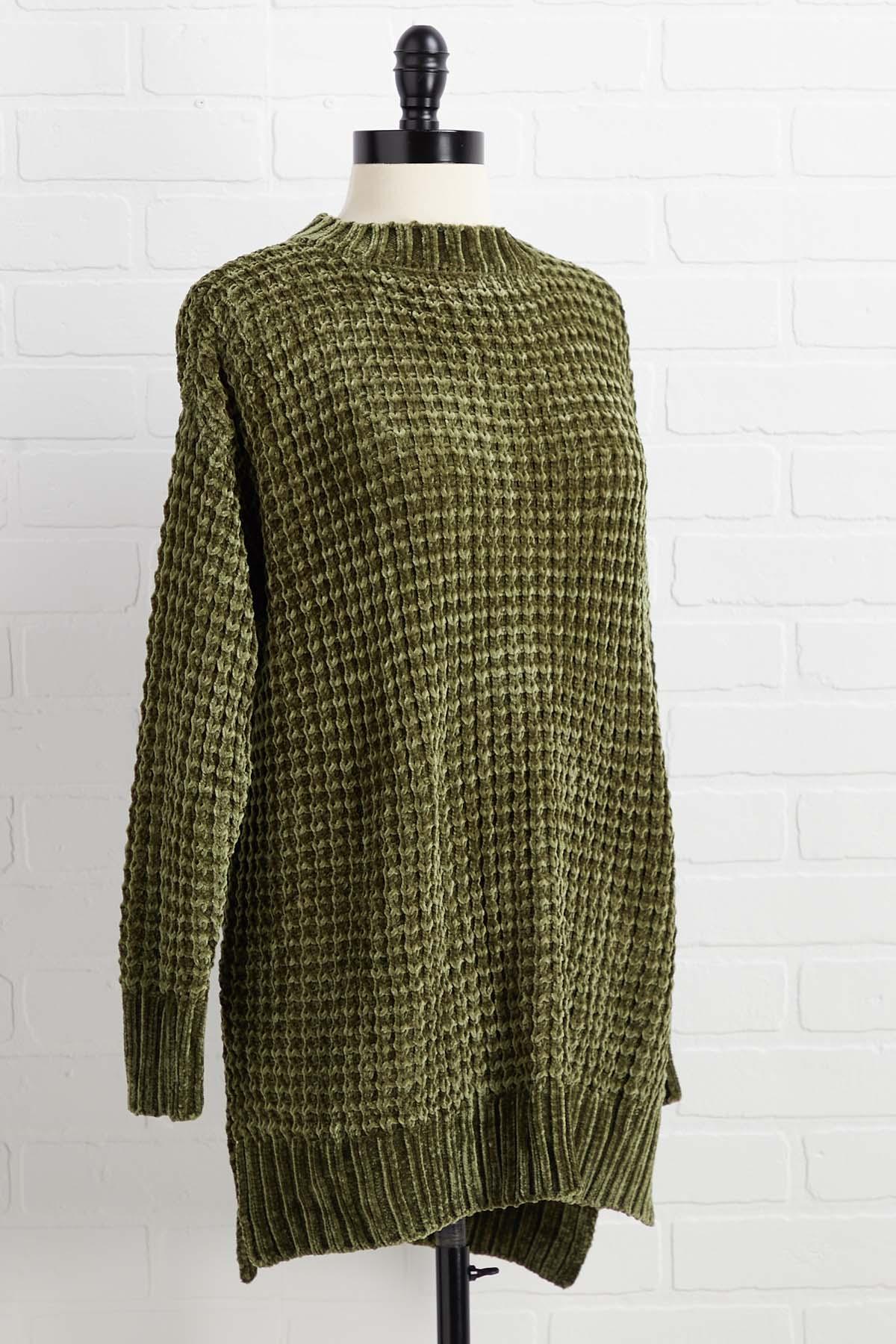 Waffle Cone Sweater