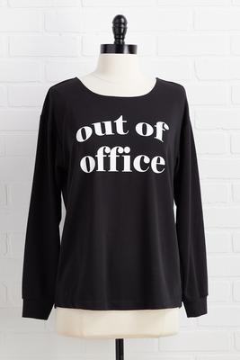 out of office top