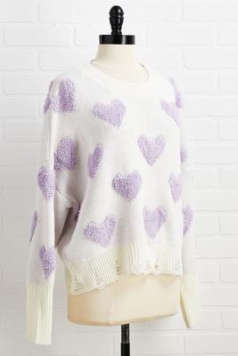 love and other fluff sweater