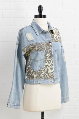 time block jacket