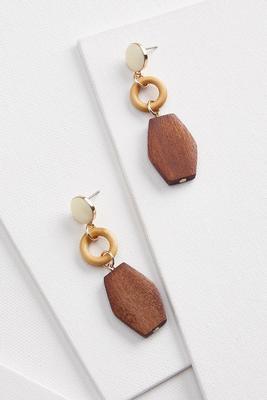 mixed wooden earrings