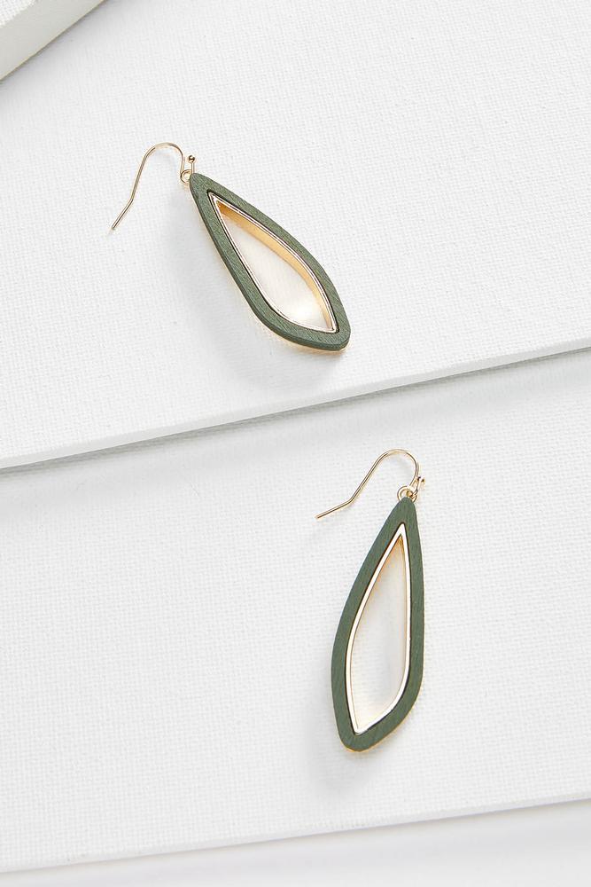 Natural Tear Earrings