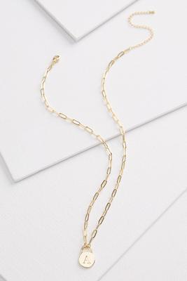 18k a pendant necklace