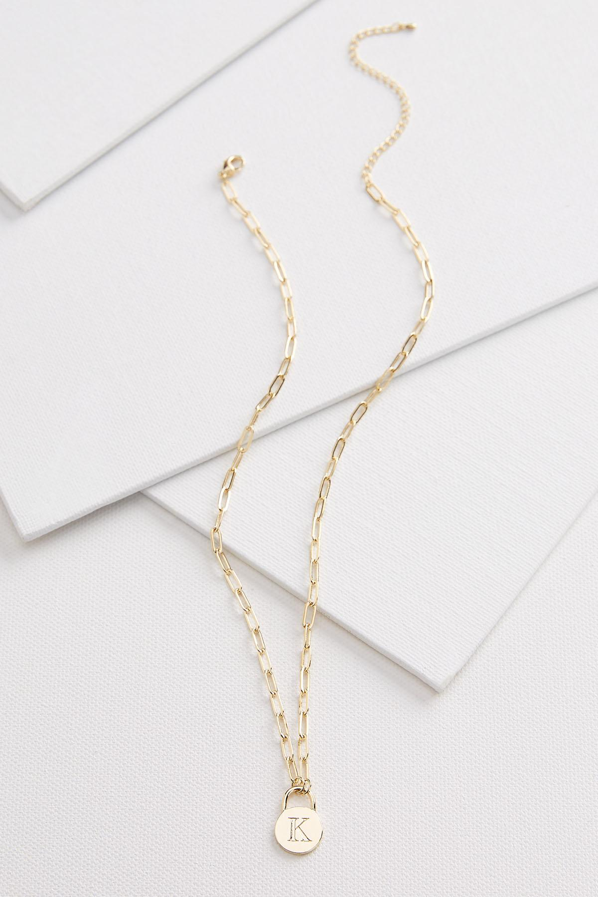 18k K Pendant Necklace