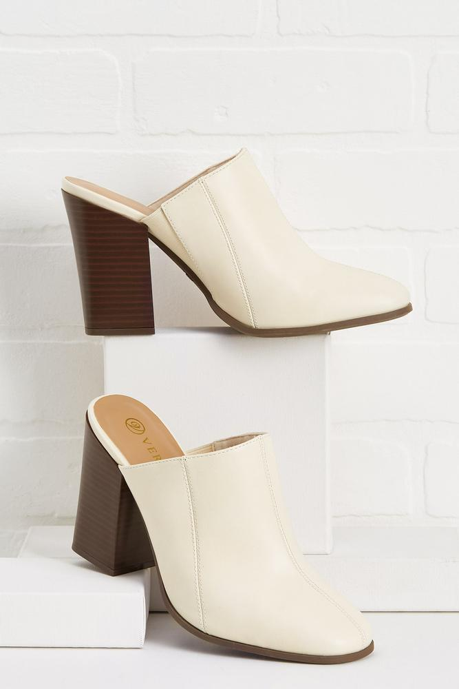What's The Stitch- Uation Mules