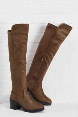 wants and knees boots