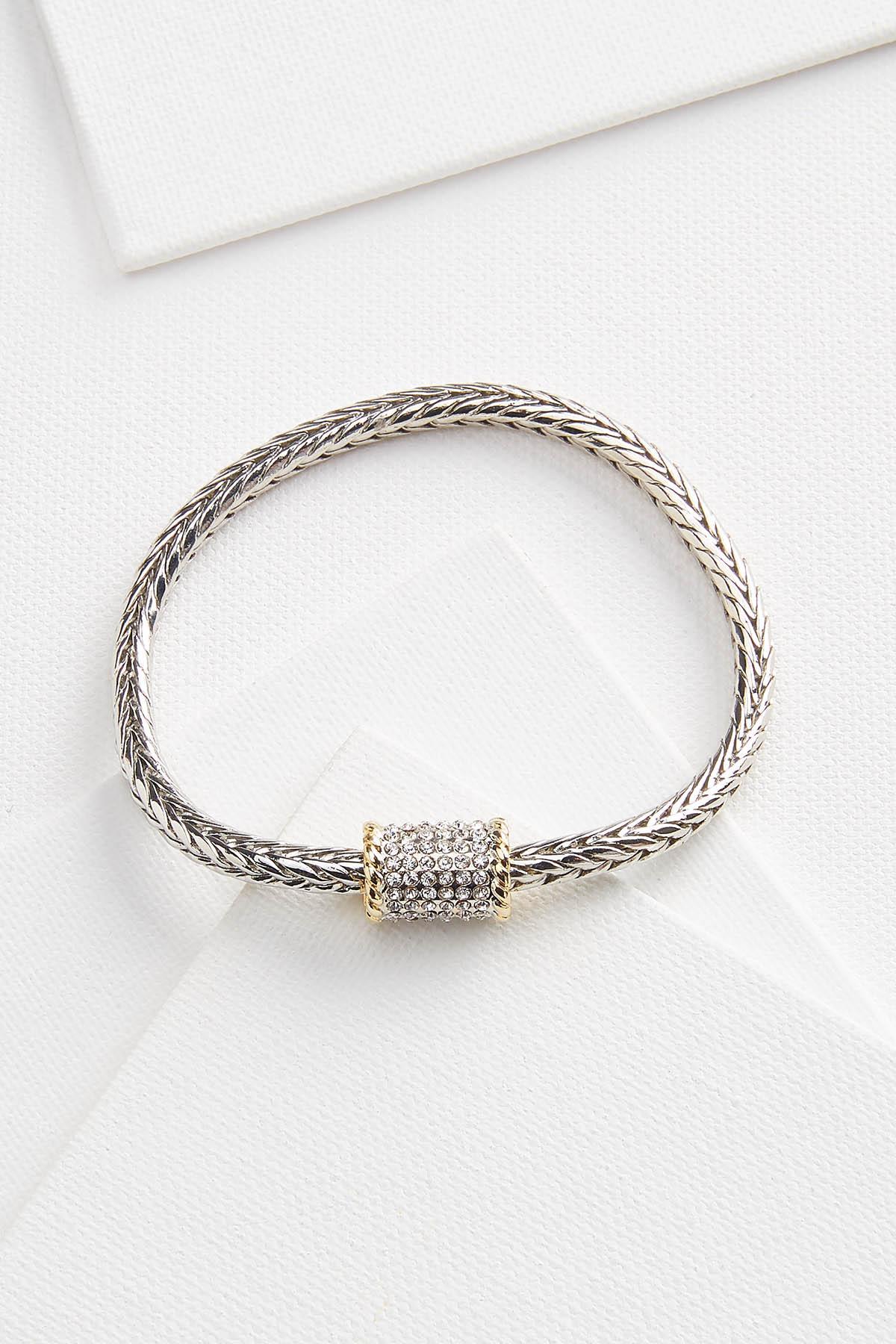 Rhinestone Metal Bracelet