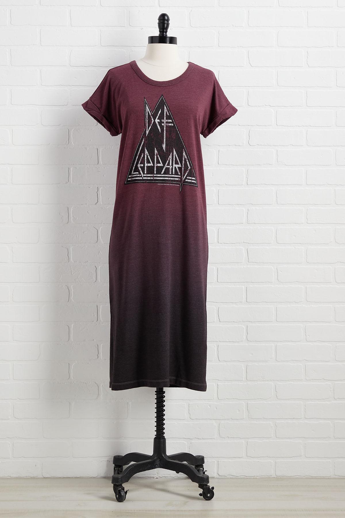 Def Leppard Tee Dress