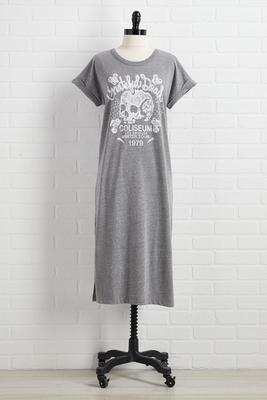 skully tee dress