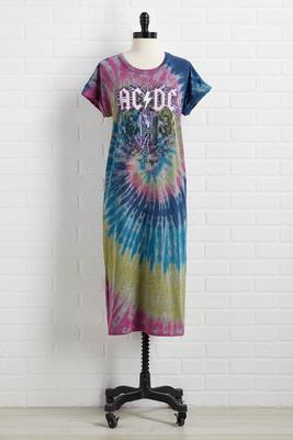 acdc tee dress