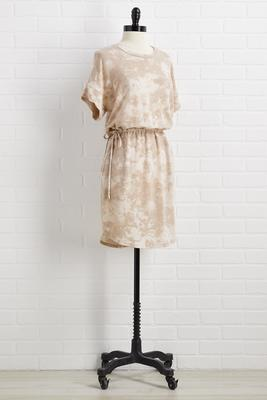 lounge to lunch dress