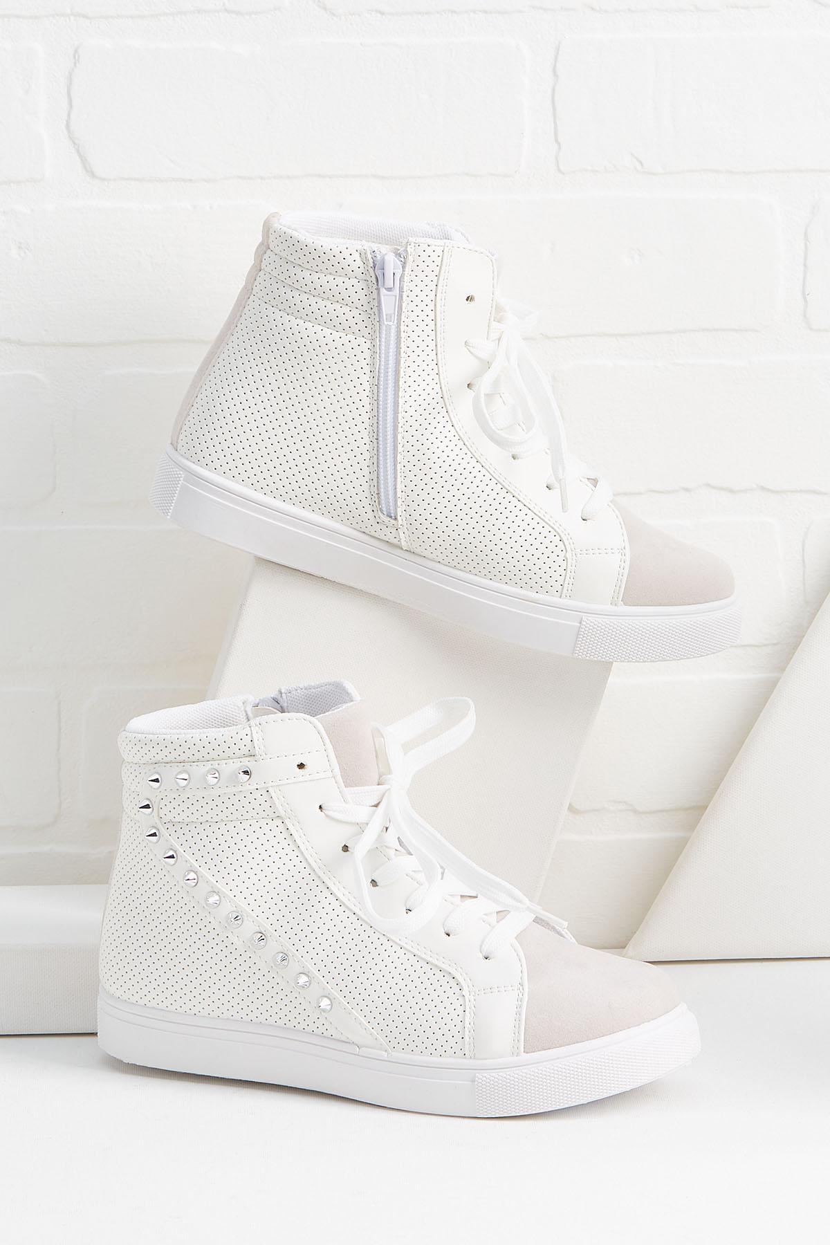 Wedge Your Way In Sneakers
