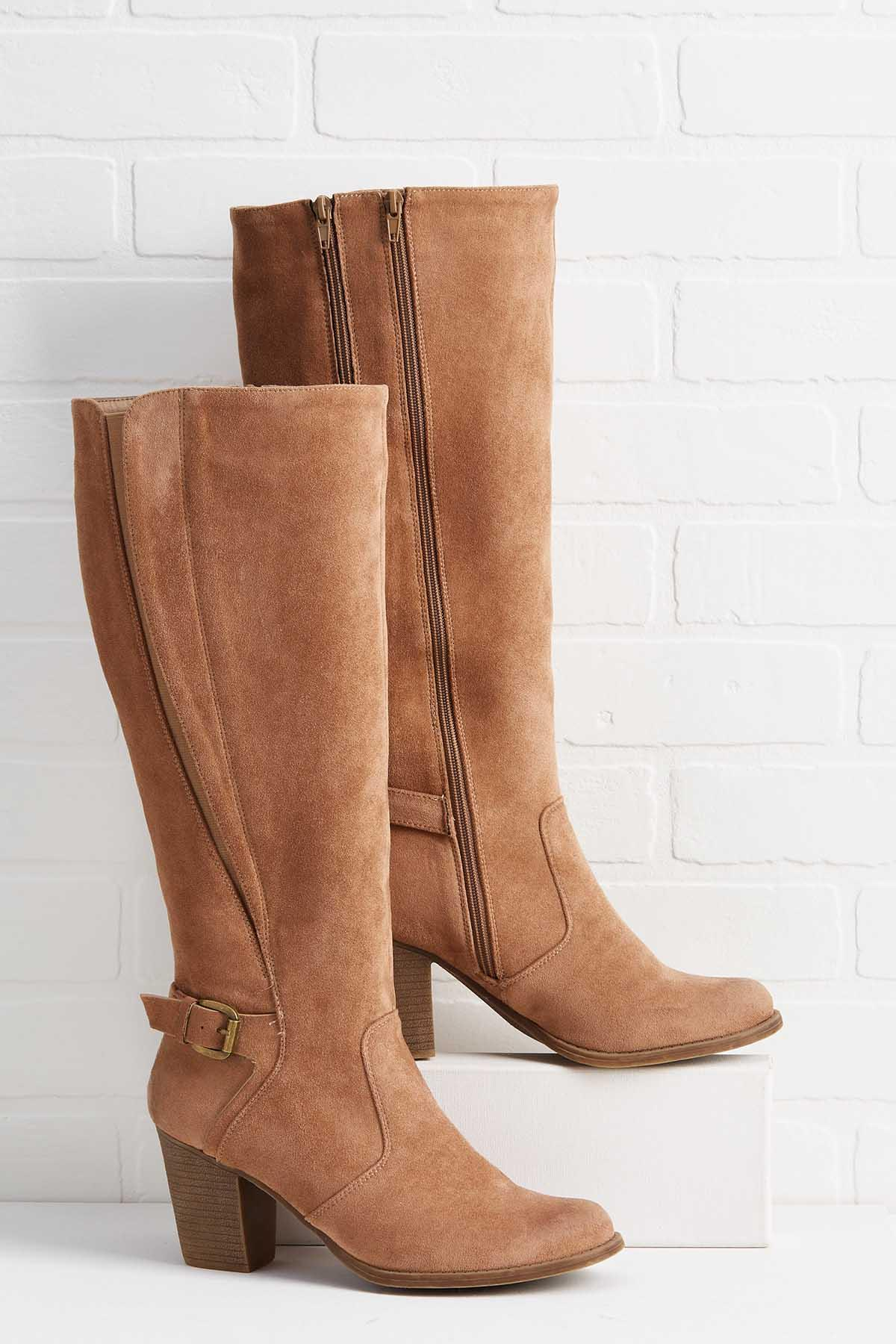 Taupe To Bottom Boots