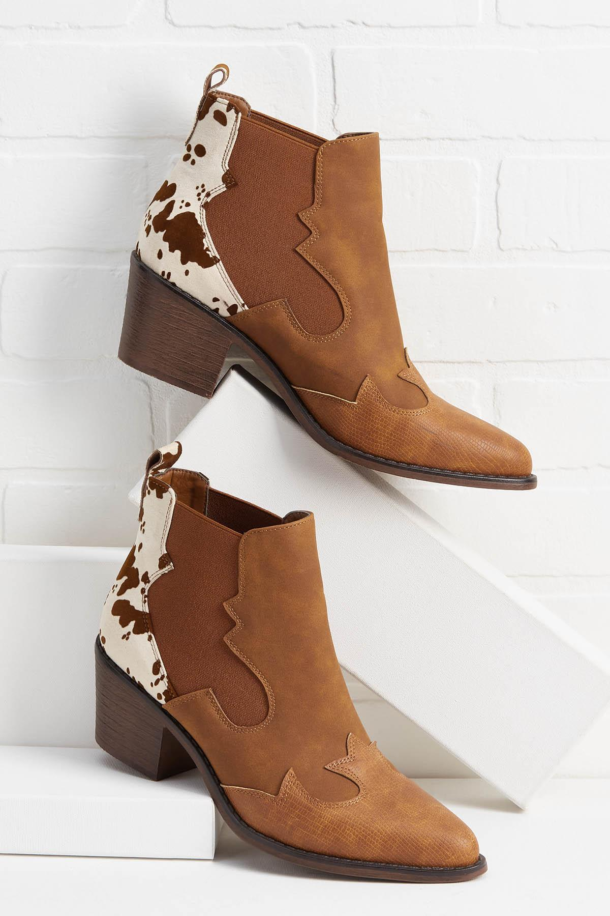 Till The Cows Come Home Booties