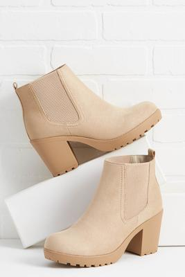 cream and sugar booties