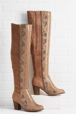 slither by over the knee boots